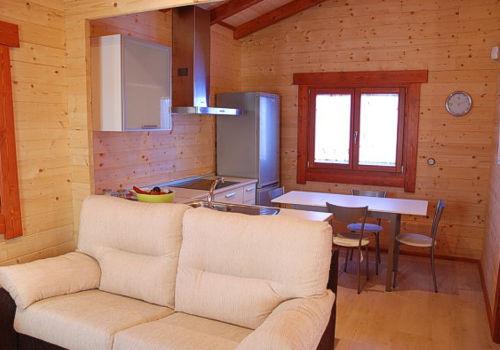 Casas de madera arlazon de 42 m2 - Interior casas de madera ...