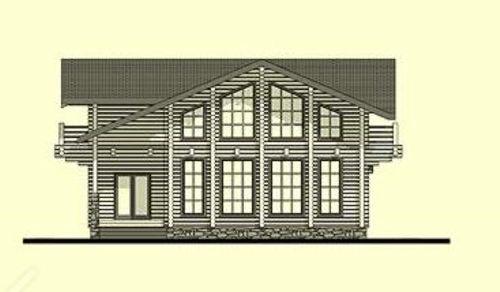 Casas de madera barcelona de 220 m2 - Casas de madera barcelona ...