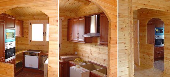 Kit ciudad real 75 m2 en casas de madera en oferta - Montaje de casas de madera ...