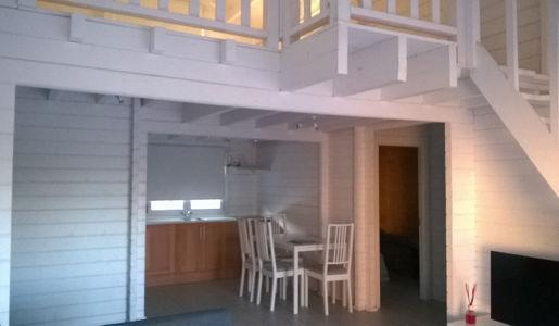 Casas de madera tarragona de 102 m2 c terraza y buhardilla - Casas con buhardilla ...