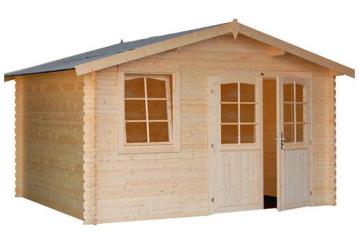 Casetas de jard n cahors de 3 80 x 3 20 - Casetas prefabricadas para jardin ...