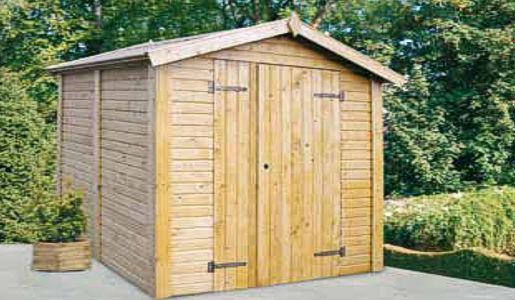 Casetas de madera claire 1 superficie 1 83 x 1 70 en oferta for Casetas madera jardin