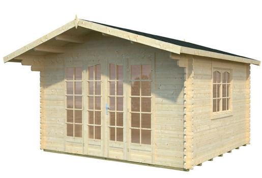 Pin madera casetas jardin venta casas pelautscom on pinterest for Casetas jardin madera