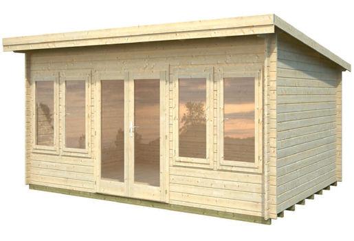 Casetas de jard n trinity de 5 50 x 4 00 for Vendo caseta de madera para jardin